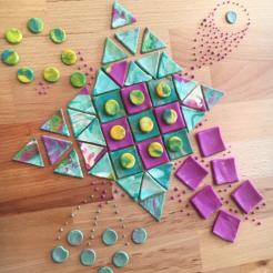 Play Dough tiles